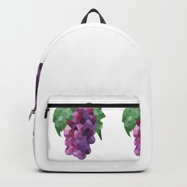 grapes 1x3 pattern, fill, repeating, tiled | elegant Backpack