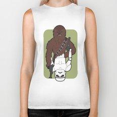 Chewbacca and Stormtrooper Biker Tank