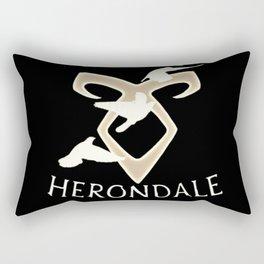 family herondale Rectangular Pillow