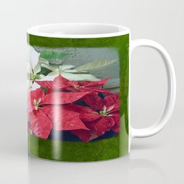 Mixed color Poinsettias 3 Blank P1F0 Coffee Mug