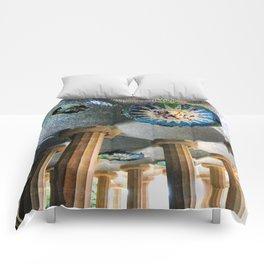 Gaudi Series - Parc Güell No. 2 Comforters