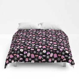 Piggy Pattern Presents Comforters
