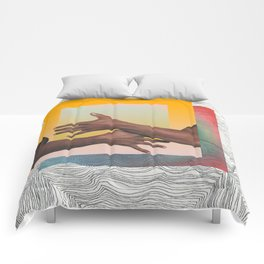grasping squares Comforters