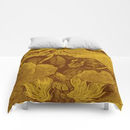 The Occult Golden Elephant Comforters
