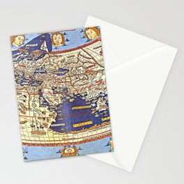 Claudius Ptolemy- The World Stationery Cards