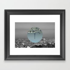 Paris is simple Framed Art Print