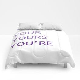 Grammar IV Comforters