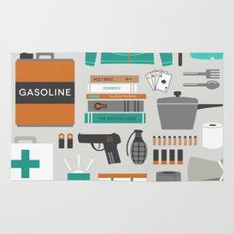 Zombie Survival Kit Rug