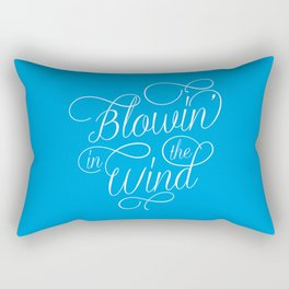 Blowin' In The Wind Rectangular Pillow