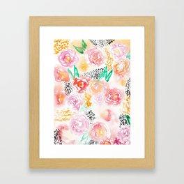 Abstract Watercolor III Framed Art Print