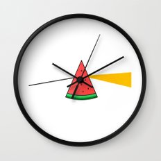 The Brightside of The Summer Wall Clock