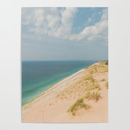 Summer at the Dunes Poster