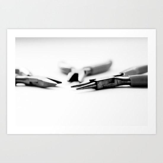 Jewelry Tools Art Print