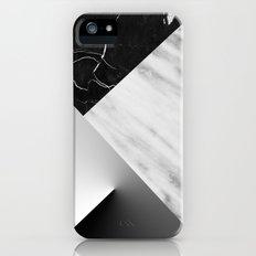 Monochromatic Marble Collage  iPhone (5, 5s) Slim Case