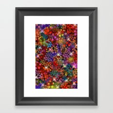 Stained Glass look Series 3 Framed Art Print