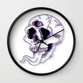 Third-Eye Skull Wall Clock