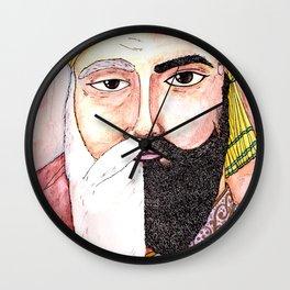 Two Gurus Wall Clock