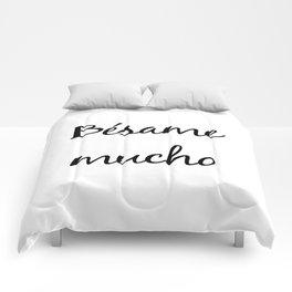 Besame mucho Comforters