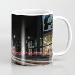 Streaming Lights on The Avenue Coffee Mug