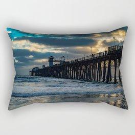 South Side Oceanside Pier ~10-2015 Rectangular Pillow