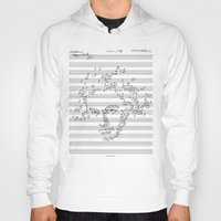beethoven Hoodies featuring Beethoven by bananabread