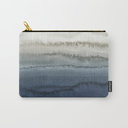 WITHIN THE TIDES - CRUSHING WAVES BLUE Carry-All Pouch