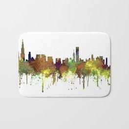 Chicago, Illinois Skyline SG Safari Buff Badematte