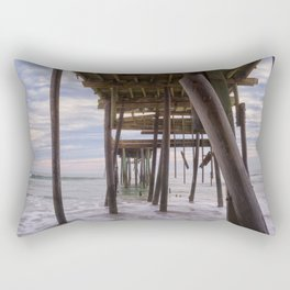 Under Frisco Pier Rectangular Pillow