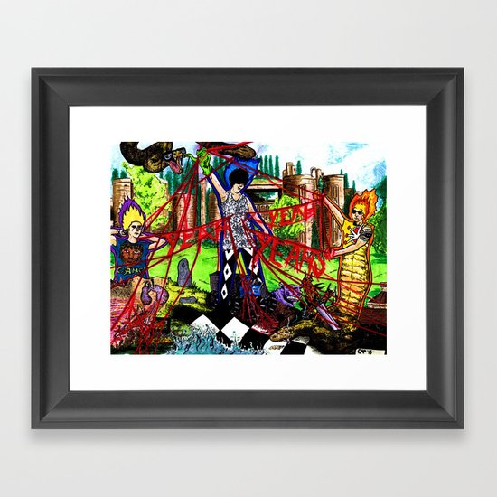 """Fever to Tell"" by Cap Blackard Framed Art Print"
