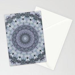 Marble kaleidoscope , mandala Stationery Cards