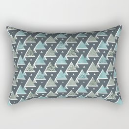 Triangle Tetris Rectangular Pillow