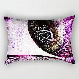 Opposition - Purple - ILL Design - Roth Gagliano Rectangular Pillow