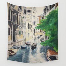 Venice digital print Wall Tapestry