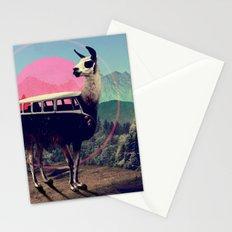 Llama Stationery Cards