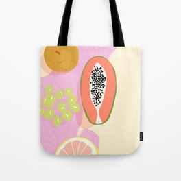 Papaya Picnic Tote Bag