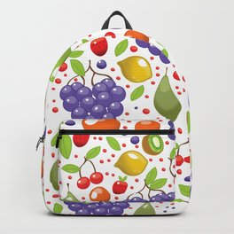 Fruit Pattern Backpack