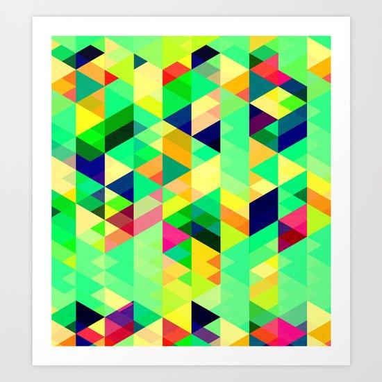 A DESERT STROLL Art Print