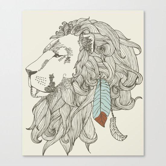 chief in Colour Canvas Print