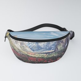 Tunnel View Yosemite Valley Fanny Pack