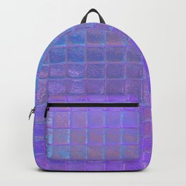 Iridescent Squares Backpack