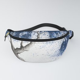 Blue Dream Tree Fanny Pack