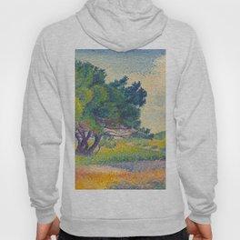 Small House at Saint Clair 1894 Henri-Edmond Cross Neo-Impressionism Pointillism Oil Painting Hoody