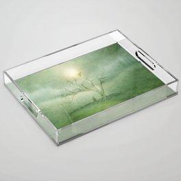 Greenery Sunrise Acrylic Tray