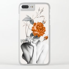 Rose 3 Clear iPhone Case