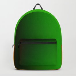 red green yellow orange texture design Backpack