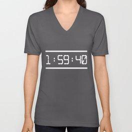 1:59:40  Marathon The fastest man on Earth Kipchoge   Unisex V-Neck