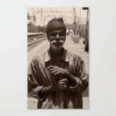 Face I (India) Canvas Print