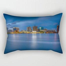 Norfolk Skyline Rectangular Pillow