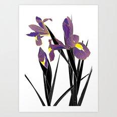 'Tell Me What To Swallow' / 'Iris' Art Print