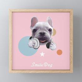 French Bulldog Framed Mini Art Print